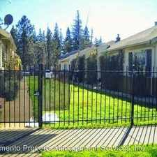 Rental info for 3228-3244 Marshall Way in the East Sacramento area