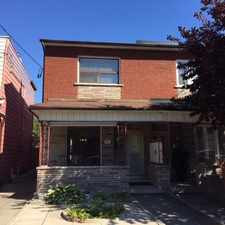 Rental info for 187 Clinton Street in the Palmerston-Little Italy area