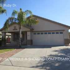 Rental info for 6121 S. Ruby Dr.