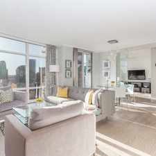 Rental info for Marinaside Crescent & Aquarius Mews in the Vancouver area