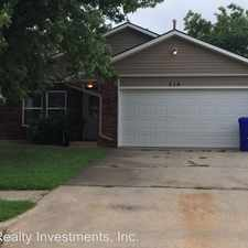 Rental info for 216 23rd Ave NE in the Norman area
