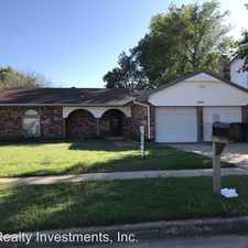 Rental info for 4124 Overland Dr in the Del City area