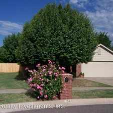 Rental info for 104 Mountain Oaks Dr. in the Norman area