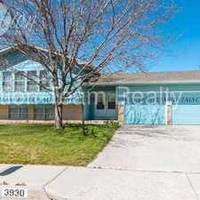 Rental info for 3930 Cantrell Drive in the Security-Widefield area