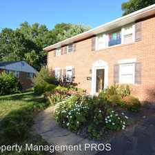 Rental info for 6326 Gentele Ct in the Rose Hill area