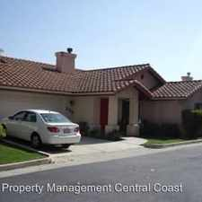 Rental info for 258 Robles Road in the Arroyo Grande area