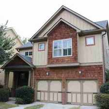Rental info for 1904 Brantley Walk Lane Atlanta Four BR, Wonderful Home in a