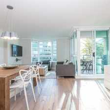 Rental info for Melville St & Jervis St in the Vancouver area