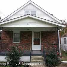 Rental info for 824 Brentwood Ave in the 40214 area