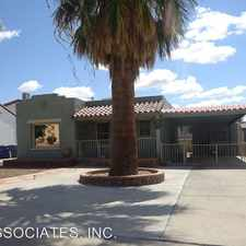 Rental info for 1208 RAYNOLDS in the El Paso area