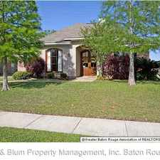 Rental info for 10571 Springglen Ct. in the Baton Rouge area