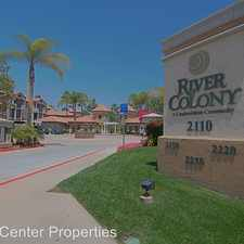 Rental info for 2050 Camino De La Reina Unit 209 in the Mission Valley East area