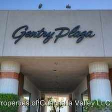 Rental info for 68525 - 68545 Ramon Road - Gentry Plaza in the Cathedral City area