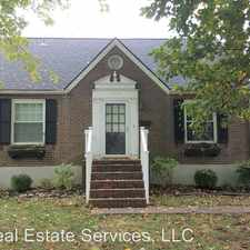 Rental info for 3820 Ormond in the Crescent Hill area