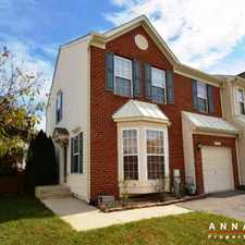 Rental info for 1833 Scaffold Way in the Severn area