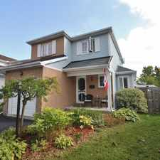 Rental info for 11 Springwater Drive in the Kanata South area