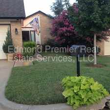 Rental info for Cozy Townhome in the Winds West Addition! in the Oklahoma City area