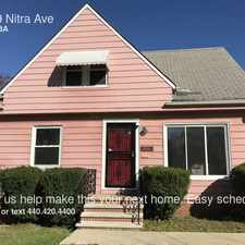 Rental info for 19609 Nitra Ave in the Cleveland area