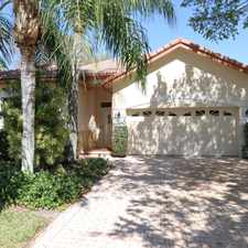 Rental info for Beautiful Single Family Home! in the PGA National area
