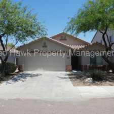 Rental info for Beautiful Four Bedroom, Two Bathroom Single-Level Laveen Meadows Rental