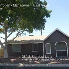 Rental info for 380 S Stardust Lane in the Apache Junction area