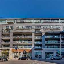 Rental info for 510 King Street East in the Regent Park area