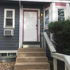 Rental info for Completely Remodeled 3 Level Townhome for Rent in Downtown Boulder. Walk to Pearl Street Mall.