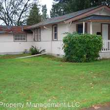 Rental info for 614 N College in the Newberg area