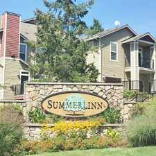 Rental info for Summerlinn in the West Linn area