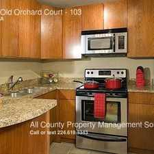 Rental info for 10113 Old Orchard Court in the Skokie area