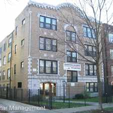 Rental info for 1525 W. Estes Ave. in the Rogers Park area