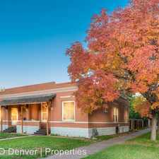 Rental info for 792 S Logan St in the Washington Park West area