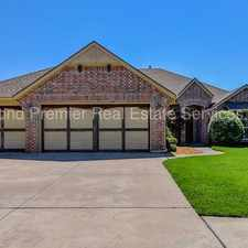 Rental info for $500 off first Month on this Alluring Home in the Chapel Creek Addition of Oklahoma City! in the Oklahoma City area