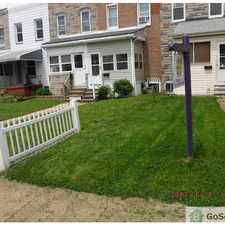 Rental info for Nice rowhome with finished basement! in the Baltimore area