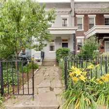 Rental info for 442 Manor Place Northwest in the Columbia Heights area