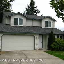 Rental info for 6420 SE 136TH CT in the Pleasant Valley area