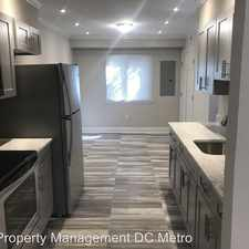 Rental info for 1117 Marcy Ave in the Washington D.C. area