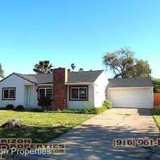 Rental info for 3720 West Way in the 95821 area