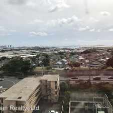 Rental info for 2888 Ala Ililma St #1709