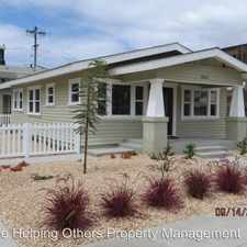 Rental info for 4044 Ohio Street in the 92104 area