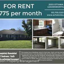 Rental info for 20th & Ottawa
