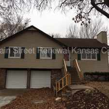 Rental info for 8317 East 103rd Terrace in the Hickman Mills South area