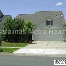 Rental info for Wonderful house with an open floor plan! in the Charlotte area