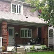 Rental info for 50 Iona Avenue in the East End-Danforth area