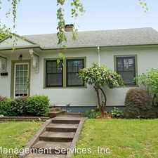 Rental info for 1442 SE Palm St in the Hosford-Abernethy area