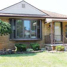 Rental info for 17615 Leslie in the 48101 area