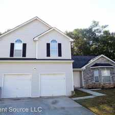 Rental info for 6746 Pole Creek Dr in the Redan area