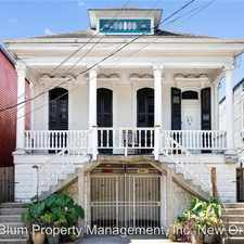 Rental info for 1306 Governor Nichols St. in the New Orleans area