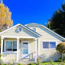 Rental info for 3426 Alamo Pl S. in the North Beacon Hill area