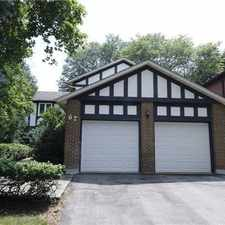 Rental info for 67 Pinnacle Road in the Banbury-Don Mills area
